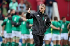 'It's out of our hands' – Schmidt on Jack McGrath's kneeing offence