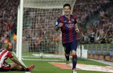 Lionel Messi has just scored one of the best cup final goals you're likely to see