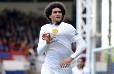 Di Maria would be great for PSG but he should stay at Manchester United – Fellaini