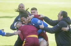 VIDEO: Police to investigate 'disgraceful' Rangers-Motherwell fight