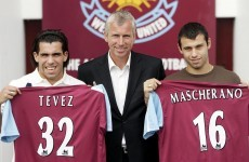 9 years on from West Ham, Tevez and Mascherano meet in the Champions League final