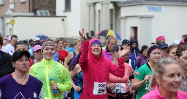 Pics: Plenty of rain but even more smiles as 37,000 run Women's Mini Marathon