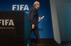 How the football world reacted to Blatter's departure