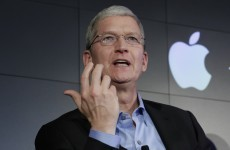 Apple's CEO delivered a scathing attack on Facebook and Google
