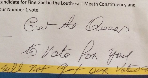 Fine Gael hopeful told to 'get the queers to vote for you'