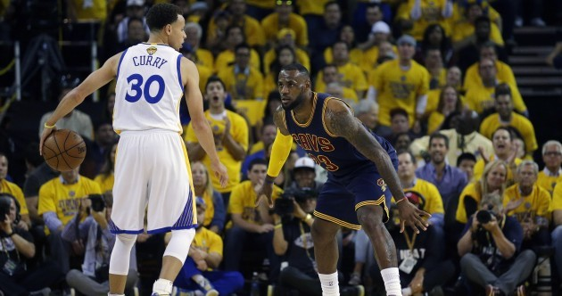 LeBron v Curry in the NBA finals tipped off last night and this is what happened