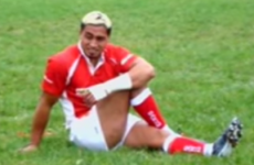 Relive the brilliant day when the late Jerry Collins togged out for an English club's 2nds team
