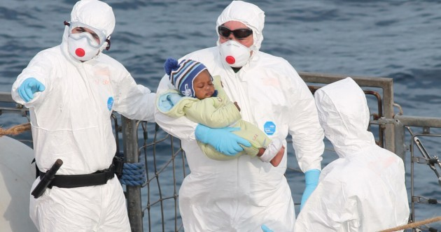 Irish Naval ship LÉ Eithne has rescued another 113 migrants off the coast of Libya