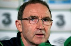 Martin O'Neill not interested in Fifa controversy, falls short of backing Delaney