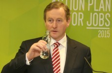 Enda Kenny will be opening a bottle bank today