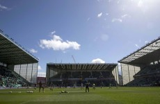 Edinburgh to play games at Hibs' Easter Road ahead of permanent ground share