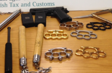 The latest weapons seizure looks like something from a Jackie Chan film