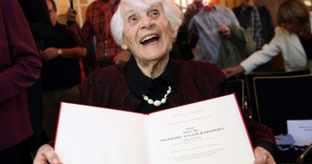 This woman was denied a doctorate during Nazi rule… but now she has one, aged 102
