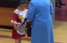 This 6-year-old went to meet the Queen… and accidentally got whacked in the face