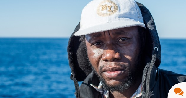 'I was aware that I could have easily died at sea. But I had to leave, I had no choice'