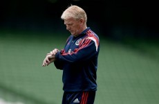 Strachan: This is sure to be a special occasion but we've come here to win