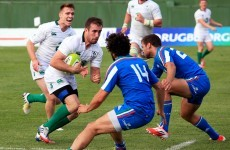 JJ Hanrahan assists three tries as Ireland come out on top against Italy