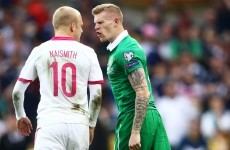 'Naismith refereed the game for most of it' – O'Neill unhappy with officiating