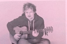 Ed Sheeran popped up on the Leaving Cert yesterday and people couldn't handle it