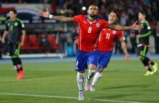 Arturo Vidal the star man in the Copa America's most entertaining game so far