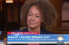 "Rachel Dolezal faces media storm and insists ""I identify as black"""