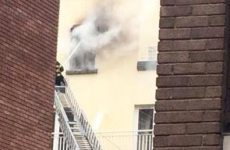 Person taken to hospital after fire in Dublin city apartment
