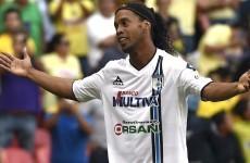 Anyone fancy signing Ronaldinho on a free?*