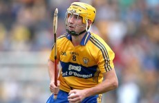 All-Ireland winner Galvin is back from Boston and has rejoined the Clare hurling squad