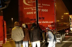 Irish truck drivers come up against threats from 'vicious' migrants in France