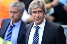 Manuel Pellegrini has taken a dig at Jose Mourinho