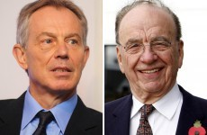 Tony Blair 'is godfather' to Rupert Murdoch's daughter