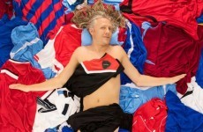 Jimmy Bullard re-enacting that scene from American Beauty will creep you out