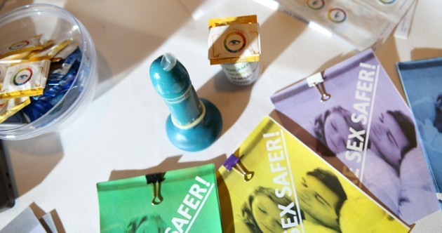 Teenagers invent a condom that changes colour if you have an STI