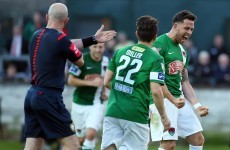 Derry undone as Cork City keep the pressure on leaders