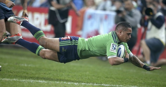 The Highlanders cashed in a chunk of luck in today's Super XV semi-final win