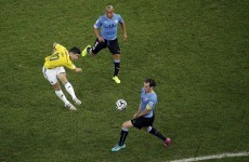 A year has passed since James Rodriguez smashed in this gift to football