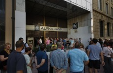 People are queuing for ATMs in Greece – but they can only get €60