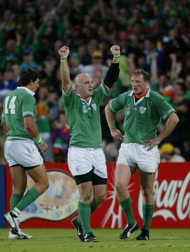 Pumas, side-stepping, and dealing with the end: Keith Wood's stand-out RWC memories