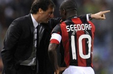 'I never fell out with Pirlo, but Seedorf drove me mad at Milan'