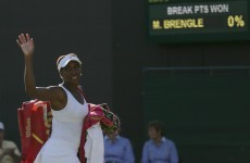 Venus romps to 42-minute 'double bagel' demolition