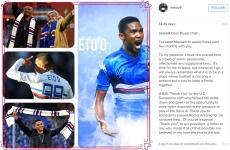 We knew Samuel Eto'o's open letter to Sampdoria fans looked familiar