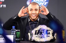 Aldo: Interim belt is a toy for McGregor to show his drunk Irish friends