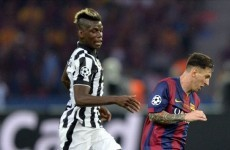 Juventus reject €80m Pogba offer from Barcelona