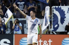 Keane celebrates 4 July with a hat-trick as Gerrard is introduced to LA Galaxy fans
