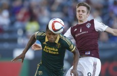 Kevin Doyle picked a good time to score his first goal since moving to the US