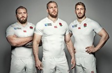 England's jersey for a World Cup on home soil comes with no frills