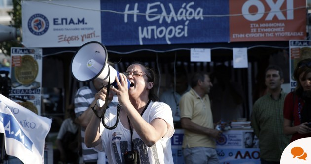 Greece has offered Europe an opportunity to redress a fundamental flaw