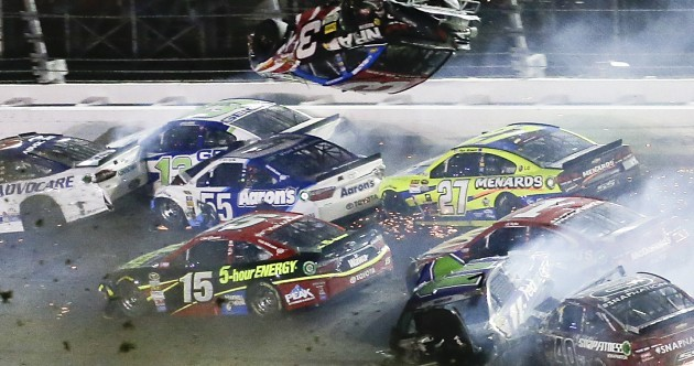 Somehow, nobody was seriously hurt following this horror crash at Daytona