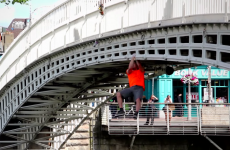 Watch these fellas clamber all over Dublin landmarks like it ain't no thing