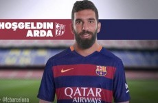 Barcelona shell out €34m for Arda Turan… but he won't be able to play until next year